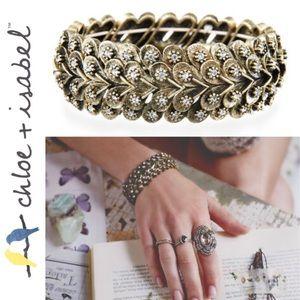 🆕 Modern Deco Stretch Bracelet c+i B012
